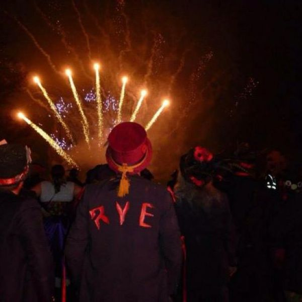 Bonfire Night Comes To Rye