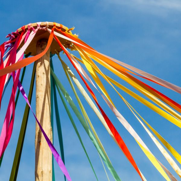 Maypole on May Day