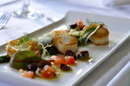 Flackley Ash Restaurant Scallops